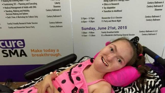 Ohio girl with Spinal Muscular Atrophy plays a crucial role in new