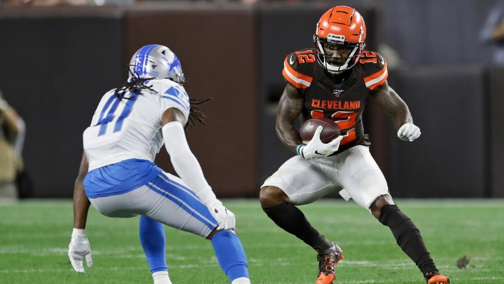 Browns cut roster to 53, waive former Buckeye Braxton Miller