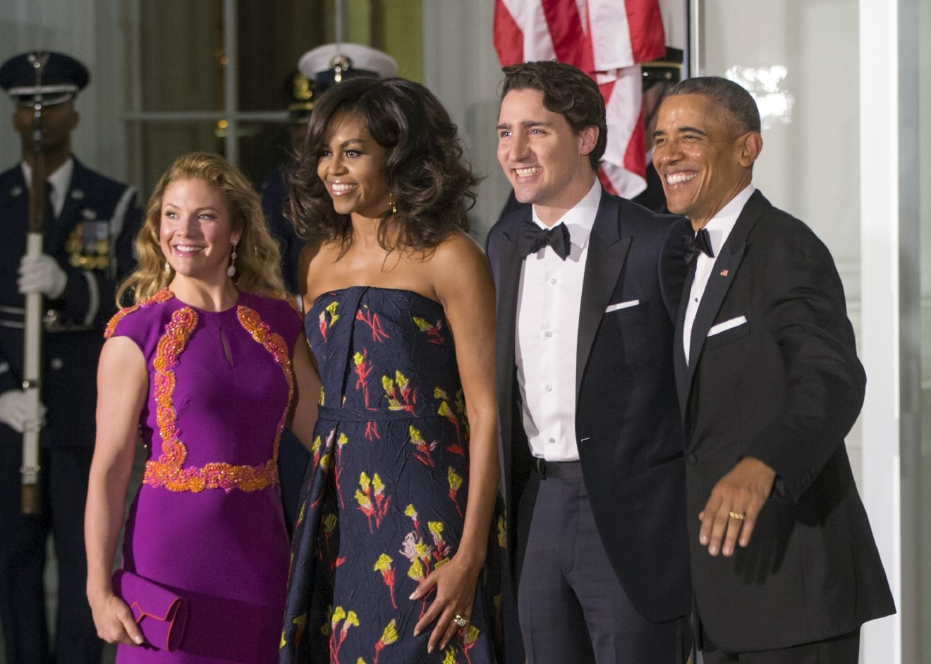 Michelle Obama Wears Jason Wu Gown For Canada State Dinner Wtte
