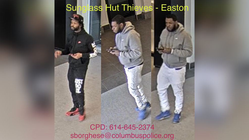 41f9bd5ada Thieves accused of stealing sunglasses at Easton store