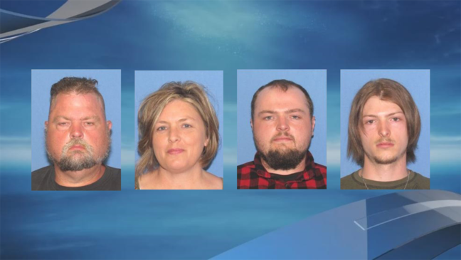 Family arrested for murders of 8 Rhoden family members in Pike